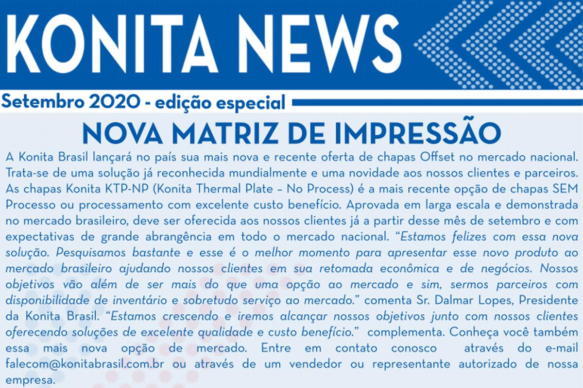 konita News – Setembro 2020