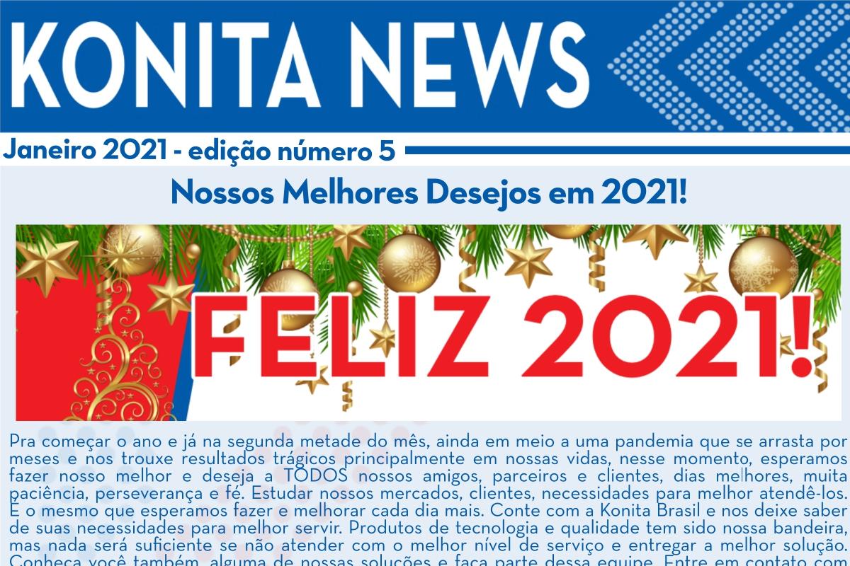 Konita News – Janeiro 2021 – N°5
