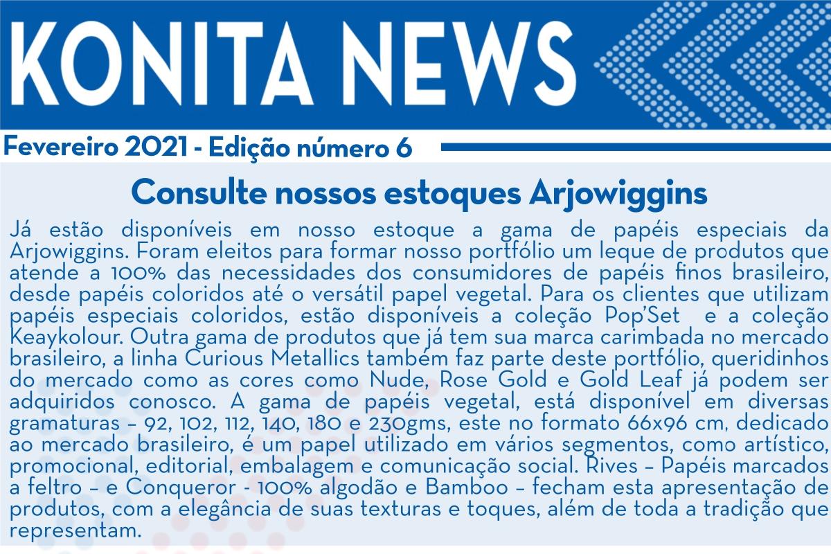 Konita News – Fevereiro 2021 – N°6